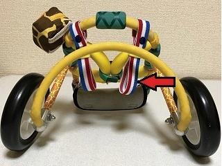 犬の車椅子-後ろ足ストラップバンド